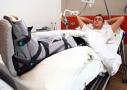 Футболист после операции / Спортивная клиника Аркус, Пфорцхайм