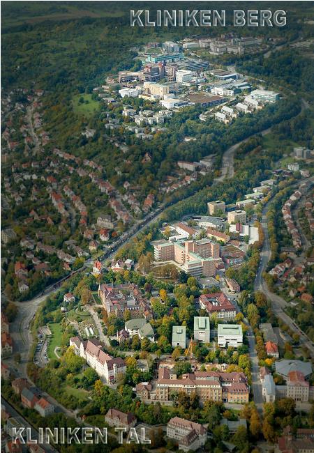 Tübingen berg tal